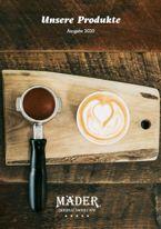 Mäder Kaffeekatalog